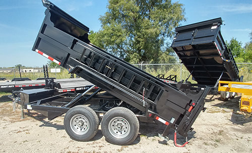 Link to page for Dump Trailers